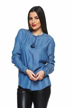 Camasa Top Secret S023543 Blue