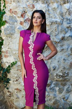 Rochie Fofy Glamour Spell Purple