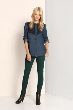 Camasa Top Secret S023566 DarkBlue