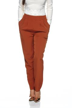 Pantaloni LaDonna Stylish Fitting Brown