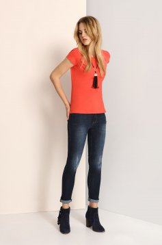 Tricou Top Secret S023583 Orange
