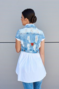 Geaca Fashion Rose Blue