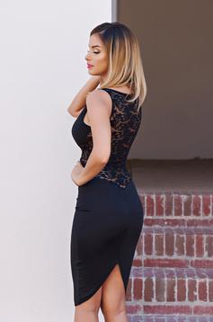 Rochie Fofy With Passion Black