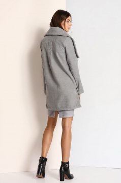 Palton Top Secret S023797 Grey