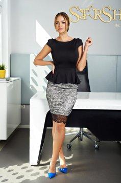 Rochie Fofy Classy Beauty Black