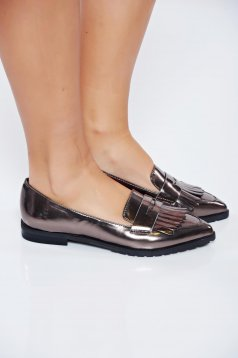 Pantofi Top Secret S024113 Silver