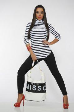 Bluza MissQ Perfect Lines White