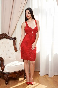 Rochie Night Sparkle Red
