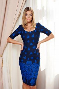 Rochie Fofy Stylish Lady Blue