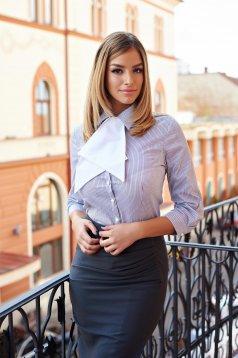 Camasa PrettyGirl Office Symbol Grey