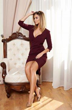 Rochie StarShinerS Romantic Grace Burgundy