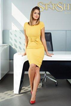 Rochie LaDonna Charming Match Yellow
