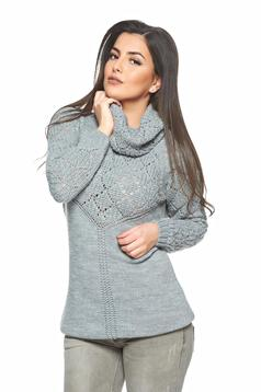 Pulover MissQ Mistery Love Grey