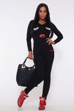 Bluza MissQ Pretty Eyes Black
