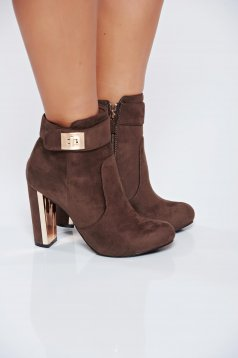Botine Top Secret S024688 LightBrown