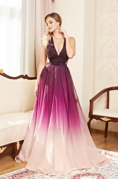 Rochie Ana Radu Impression Purple