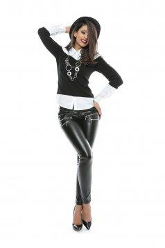 Pantaloni Finest Look Black