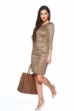 Rochie StarShinerS Grandeur Brown