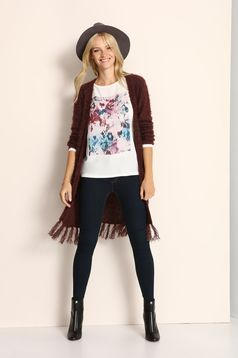Cardigan Top Secret S024794 Red