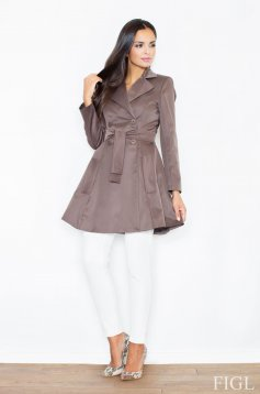 Palton S024998 Brown