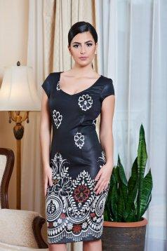 Rochie LaDonna Princess Print Black