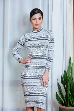 Rochie StarShinerS Enigmatic Girl Grey