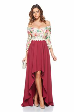 Rochie StarShinerS Misterious Lady Burgundy
