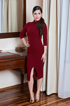 Rochie StarShinerS Gorgeous Figure Burgundy