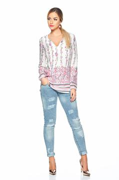 Bluza StarShinerS Fall Roses White