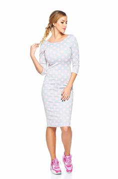 Rochie StarShinerS Beautiful Wish Grey