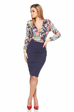 Rochie StarShinerS Soft Winter DarkBlue