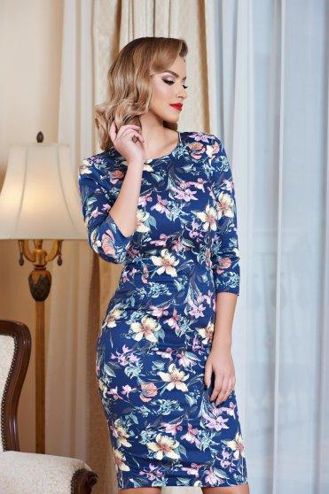 Rochie StarShinerS Flower Desire Blue