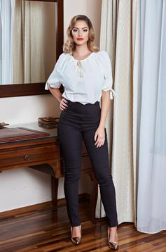 Pantaloni Fofy Perfect Line DarkBrown