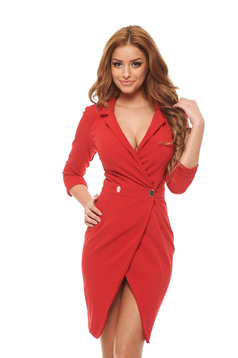 Rochie PrettyGirl Silent Movie Red