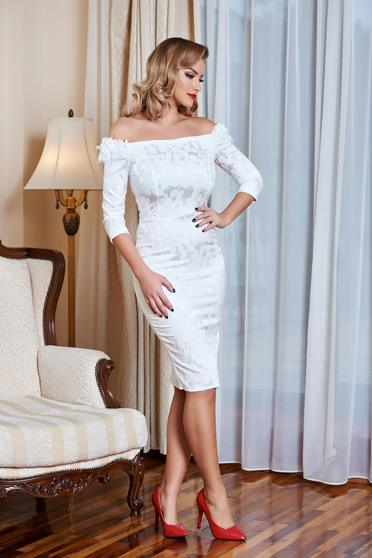 Rochie StarShinerS Royal Note White