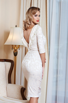 Rochie StarShinerS Enigmatical Cream