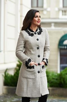 Palton LaDonna Charming Diva Grey