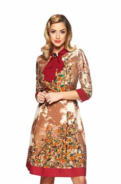 Rochie LaDonna Office Charm Brown
