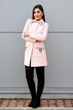 Palton LaDonna Fabulous Winter Rosa
