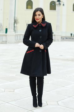 Palton LaDonna Splendid Style Black