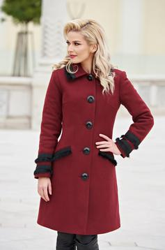 Palton LaDonna Best Look Burgundy