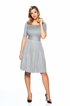 Rochie PrettyGirl Love Emotion Grey