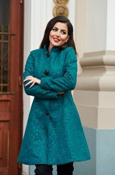 Palton Artista Elegant Concept Turquoise
