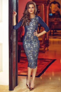 Rochie StarShinerS Theo Rose Masterpiece DarkBlue