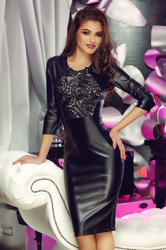 Rochie StarShinerS Dusty Illusion Black