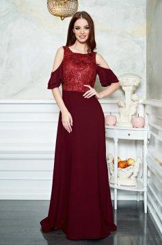 Rochie StarShinerS Spoiled Burgundy