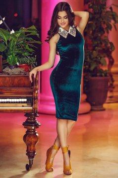 Rochie StarShinerS Magic Evening Green