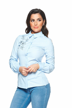 Camasa LaDonna Pretty Flower LightBlue