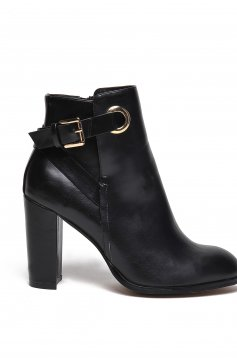Botine Top Secret S025397 Black
