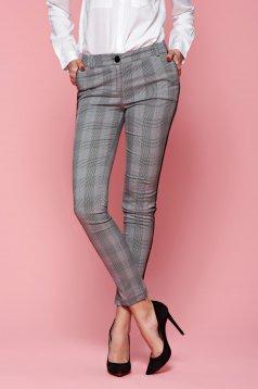 Pantaloni PrettyGirl Simply Office Grey